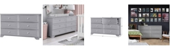 Belle Isle Furniture South Lake 6 Drawer Double Dresser