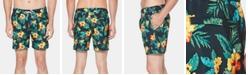 """Original Penguin Men's 6"""" Floral Graphic Shorts"""