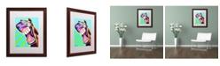 "Trademark Global DawgArt 'That's A Good One' Matted Framed Art - 16"" x 20"" x 0.5"""