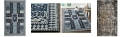Safavieh Classic Vintage Black and Silver 3' x 5' Area Rug