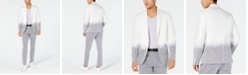 INC International Concepts I.N.C. Men's Slim-Fit Partially Striped Blazer, Created for Macy's