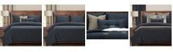 PoloGear Belmont Deep Blue 6 Piece Full Size Luxury Duvet Set