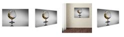 "Trademark Global Jackson Carvalho 'The Wave' Canvas Art - 19"" x 12"" x 2"""
