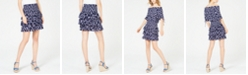 Michael Kors Printed Tiered Ruffled Skirt, Regular & Petite