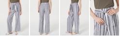 INC International Concepts INC Tie Waist Wide-Leg Pants, Created for Macy's