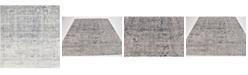 Bridgeport Home Odette Ode1 Gray 7' x 7' Square Area Rug
