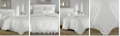 Laura Ashley Annabella White Comforter Set, Full/Queen