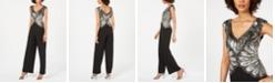Adrianna Papell Petite Embellished Jumpsuit
