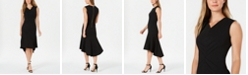 Calvin Klein High-Low Midi Dress