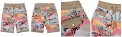 "Born Fly Men's Big & Tall Print 13"" Shorts"