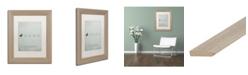 "Trademark Global Christian Jackson 'Ugly Duckling' Matted Framed Art - 11"" x 14"""