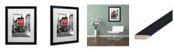"""Trademark Global Coca Cola 'Color Splash Vintage Photography 7' Matted Framed Art - 16"""" x 20"""""""