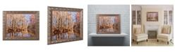 """Trademark Global Jason Shaffer 'Beaver Creek 7' Ornate Framed Art - 14"""" x 11"""""""