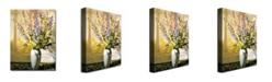 "Trademark Global David Lloyd Glover 'Bouquet Impressions' Canvas Art - 24"" x 18"""