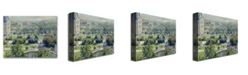 "Trademark Global Claude Monet 'View of the Tuileries' Canvas Art - 32"" x 24"""
