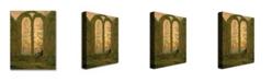 "Trademark Global Caspar Friedrich 'Ruins of the Oybin Monastery' Canvas Art - 32"" x 24"""