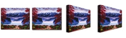 "Trademark Global David Lloyd Glover 'Morning Glory' Canvas Art - 32"" x 24"""