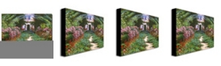 "Trademark Global David Lloyd Glover 'Summer in Giverny' Canvas Art - 47"" x 35"""
