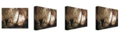 "Trademark Global Jean Baptiste Corot 'Landscape' Canvas Art - 47"" x 35"""