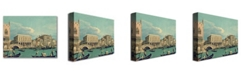 """Trademark Global Canaletto 'Bridge of Sighs' Canvas Art - 47"""" x 30"""""""
