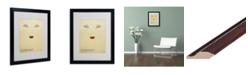 "Trademark Global Christian Jackson 'Sleeping Beauty' Matted Framed Art - 20"" x 16"""