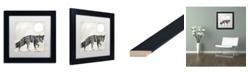 "Trademark Global Color Bakery 'Going Wild VII' Matted Framed Art - 11"" x 11"""