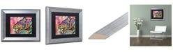 "Trademark Global Dean Russo 'Saber Tooth' Matted Framed Art - 11"" x 14"""