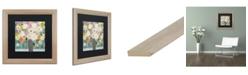 "Trademark Global Carrie Schmitt 'Bask In The Beauty Of It All' Matted Framed Art - 16"" x 16"""