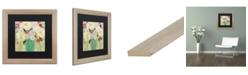 """Trademark Global Carrie Schmitt 'Earth Sky And Water' Matted Framed Art - 16"""" x 16"""""""