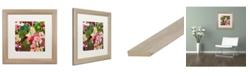 """Trademark Global Carrie Schmitt 'Intuition' Matted Framed Art - 16"""" x 16"""""""