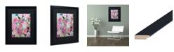 "Trademark Global Carrie Schmitt 'Whimsy' Matted Framed Art - 16"" x 20"""