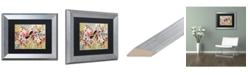 "Trademark Global Natasha Wescoat '004' Matted Framed Art - 11"" x 14"""