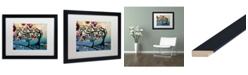 "Trademark Global Natasha Wescoat '011' Matted Framed Art - 16"" x 20"""