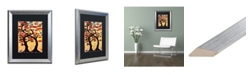 "Trademark Global Natasha Wescoat '012' Matted Framed Art - 16"" x 20"""