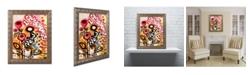 "Trademark Global Natasha Wescoat '104' Ornate Framed Art - 16"" x 20"""
