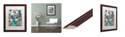 """Trademark Global Carrie Schmitt 'Entwined' Matted Framed Art - 16"""" x 20"""""""