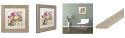 """Trademark Global Carrie Schmitt 'Jubilation' Matted Framed Art - 11"""" x 11"""""""