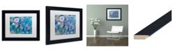 """Trademark Global Carrie Schmitt 'Be Wild' Matted Framed Art - 11"""" x 14"""""""