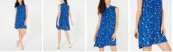 Anne Klein Woodstock Printed Shift Dress