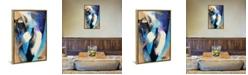 """iCanvas Rhapsody Blue by Michael Goldzweig Gallery-Wrapped Canvas Print - 26"""" x 18"""" x 0.75"""""""