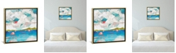 "iCanvas Flamingo Dream by Spacefrog Designs Gallery-Wrapped Canvas Print - 18"" x 18"" x 0.75"""