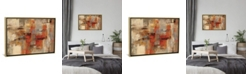 "iCanvas City Wall by Silvia Vassileva Gallery-Wrapped Canvas Print - 26"" x 40"" x 0.75"""