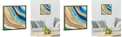 """iCanvas Agate Ii by Pi Galerie Gallery-Wrapped Canvas Print - 18"""" x 18"""" x 0.75"""""""