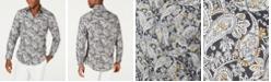 Tasso Elba Men's Stretch Jaipur Paisley Print Shirt, Created for Macy's