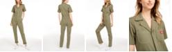 Dickies Short-Sleeve Cotton Jumpsuit