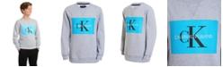 Calvin Klein Big Boys Monogram Logo Sweatshirt