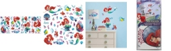 York Wallcoverings The Little Mermaid Peel and Stick Wall Decals