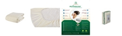 Sleep & Beyond Myprotector, 2-in-1 Ultimate, Washable, Natural Mattress Protector, Crib