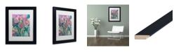 """Trademark Global Carrie Schmitt 'Persistence' Matted Framed Art - 11"""" x 14"""""""
