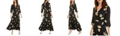 Bar III Ruffle Wrap Maxi Dress, Created for Macy's